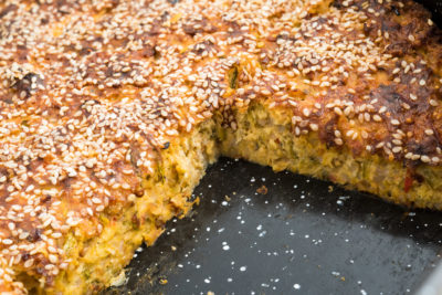 Homemade zucchini pie with sesame in roasting pan bake, cake, cooking, courgette, cuisine, delicious, dinner, eating, food, homemade, lunch, meal, pan, pie, roast, roasting, sesame, vegetable, vegetarian, zucchiniDieser Artikel ist erschienen inDer Hausarzt 19/2018Seite 72DownloadPDF-Dokument1 Seite(n)Größe: 172,90 kBEin schnelles Rezept für eine vollwertige, vegetarische Zwischenmahlzeit.Sabine Olpp, MFA und VERAH®, Kolbingen