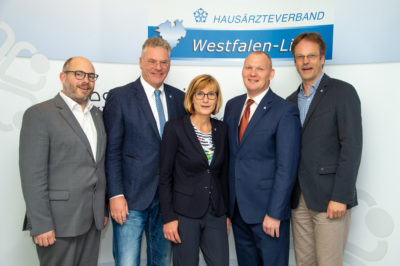 Vorstand des Hausärzteverbands Westfalen-Lippe September 2019